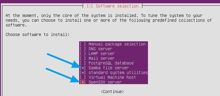 Installing Ubuntu Server