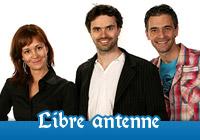 Lien vers la page de l'émission Libre-Antenne du M103.5