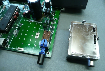 Original RF box unsoldered