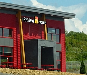 Visite du St-Hubert Express d'Edmundston