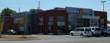 Visite du St-Hubert Express de Kingston, Ontario