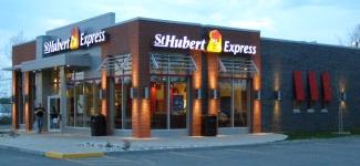 Visite du St-Hubert Express de Matane