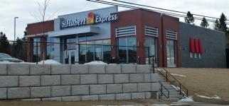 Visite du St-Hubert Express de Rothesay au Nouveau-Brunswick