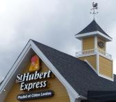Visite du St-Hubert Express de St-Lin-Laurentides